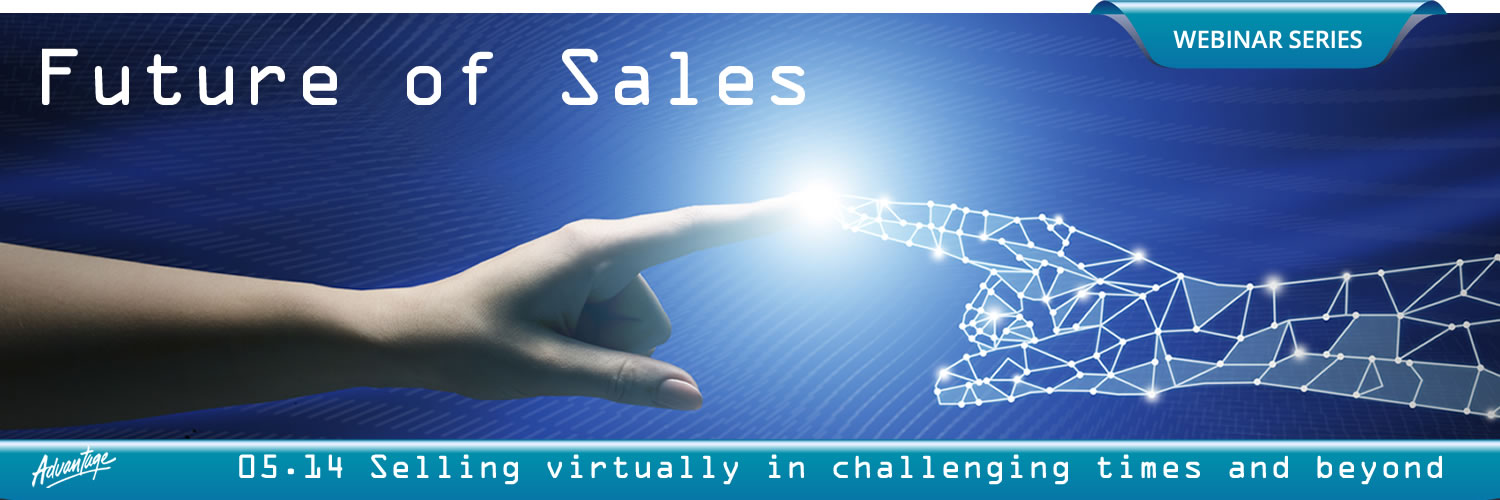 Future of Sales webinar series: Selling virtually