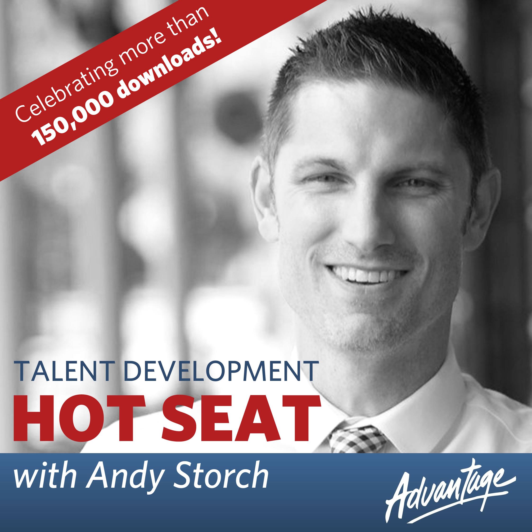 Talent Develop Hot Seat Podcast 2020 logo